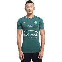 Le Coq Sportif AS Saint Etienne 2017/18 Home Shirt - Green - Mens
