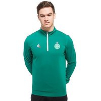 Le Coq Sportif AS Saint Etienne 1/2 Zip Sweater - Green - Mens