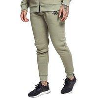 SikSilk Core Fleece Pants - Sage - Mens