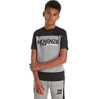 McKenzie Clancy Poly Mesh T-Shirt Junior - Grey - Kids