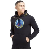 Nike NBA Golden State Warriors City Hoodie - Black - Mens