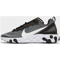 Nike React Element 55 Herren - Black/White/White, Black/White/White