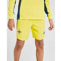 adidas Northern Ireland 2020 Goalkeeper Shorts Junior   Yellow   Kids