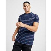 McKenzie Russell Stripe T Shirt   Navy   Mens