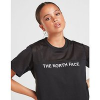 The North Face Mesh Panel Crop T-Shirt Damen