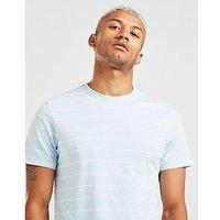 The North Face Stripe T Shirt   Blue   Mens