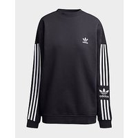 adidas Originals Lock Up Crew Sweatshirt Women s   Black