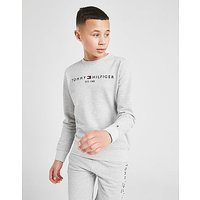 Tommy Hilfiger Essential Crew Sweatshirt Junior   Grey   Kids
