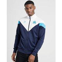 PUMA Olympique Marseille Icon Track Jacket   Blue   Mens