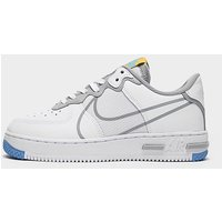 Nike Air Force 1 React Junior   White   Kids