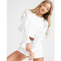 adidas Originals Clear Tape Sweatshirt Damen - Only at JD - White/Silver, White/Silver