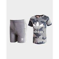 adidas Originals Trefoil Camo T-Shirt/Shorts Set Baby - Kids