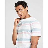 Duffer camiseta Louis Stripe, White/Blue/Pink