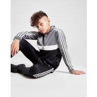adidas 1/2 Zip Poly Hooded Trainingsanzug Kinder - Only at JD - Schwarz - Kids, Schwarz