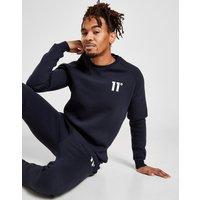 11 Degrees Core Fleece Crew Sweatshirt Damen - Blau - Mens, Blau