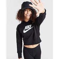 Nike sudadera Crop con capucha Club French Terry júnior