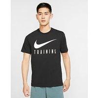 Nike Nike Dri FIT Men s Training T Shirt   Black