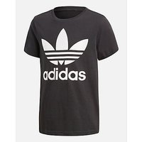 adidas Originals Trefoil T-Shirt Junior - Black/White/White - Kids