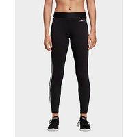 adidas Performance Essentials 3 Stripes Leggings   Black    Womens