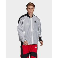 adidas Performance VRCT Oversize Jacket   White   Mens