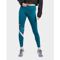Reebok Meet You There Tights   Heritage Teal   Womens
