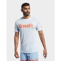 Reebok CrossFit Read Tee   Glass Blue   Mens