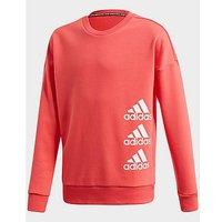 adidas Performance Must Haves Crew Sweatshirt   Core Pink