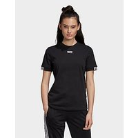 adidas Originals T Shirt   Black   Womens