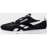 Reebok Classic Nylon Shoes   Black    Mens