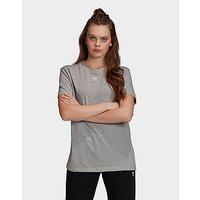 adidas Originals Trefoil Essentials T Shirt   Grey   Womens