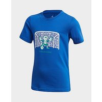 adidas Performance Cotton T Shirt   Blue   Kids