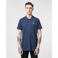 Mens Fjallraven Ovik Short Sleeve Polo Shirt - Navy/Navy, Navy/Navy