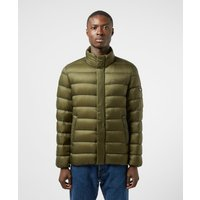 Mens Tommy Jeans Lightweight Down Padded Jacket - Green, Olive/Olive