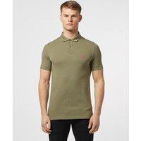 Mens Barbour Beacon Short Sleeve Polo Shirt - Green/Green, Green/Green