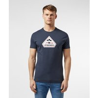 Mens Pyrenex Karel Short Sleeve T-Shirt - Navy, Navy