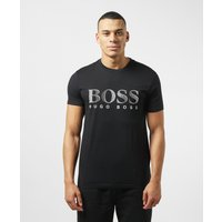 Mens BOSS Swim Logo Short Sleeve T-Shirt - Black, Black