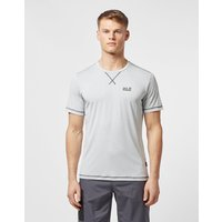 Mens Jack Wolfskin Short Sleeve Core Tech T-Shirt - Grey, Grey