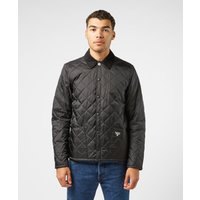 Mens Barbour Beacon Starling Quilted Jacket - Black/White, Black/White