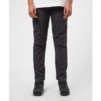 Mens Jack Wolfskin Grassland Trousers - Black/Silver, Black/Silver