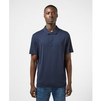Mens Michael Kors Sleek Short Sleeve Polo Shirt - Blue, Blue