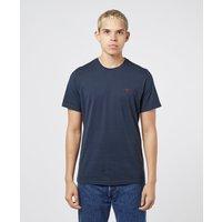 Mens Barbour Sports Short Sleeve T-Shirt - Navy, Navy