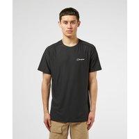 Mens Berghaus 24/7 Tech Short Sleeve T-Shirt - Black/Black, Black/Black
