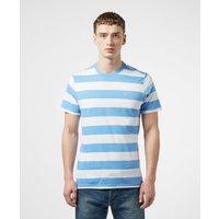 Mens Barbour Beach Stripe Short Sleeve T-Shirt - Blue/White, Blue/White