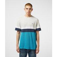 Mens Tommy Jeans Colour Block Short Sleeve T-Shirt - Grey/Grey, Grey/Grey