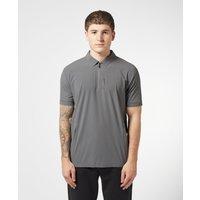 Mens BOSS Pariq Tech Short Sleeve Polo Shirt - Grey/Grey, Grey/Grey
