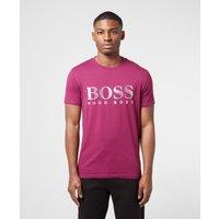 Mens BOSS Swim Logo Short Sleeve T-Shirt - Purple, Grape
