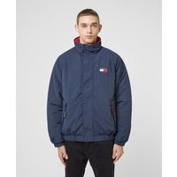 Mens Tommy Jeans Essential Down Jacket - Navy/Navy, Navy/Navy