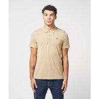 Mens Lacoste Sport Basic Short Sleeve Polo Shirt - Brown, Stone/Stone