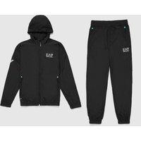 Mens Emporio Armani EA7 Ventus Tech Track Suit - Black, Black