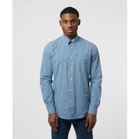Mens Barbour Gingham Shirt - Navy, Navy